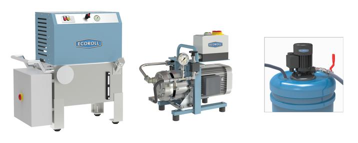 ECOROLL Hydraulik Aggregate HGP 6.5, 6.0 und Tauchpumpeneinheit