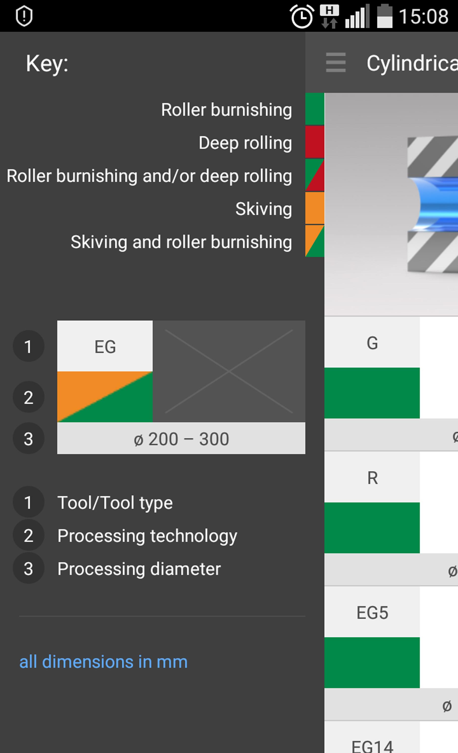 ECOROLL MechKon App - Product configurator and calculator